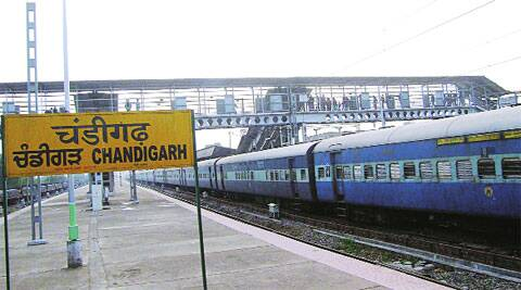 The announcement to make Chandigarh Railway Station a world class station was made by Mamata Banerjee in her 2009 rail budget. -(Express Archive)