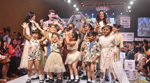 Kids show for first time at Lakme Fashion Week