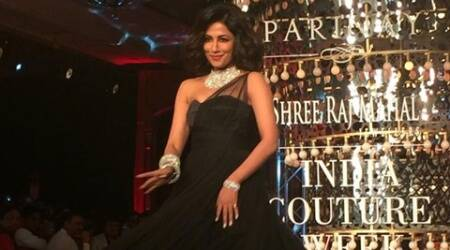 Chitrangada swirled her way on the ramp and her fun and flirty moves were similar to that of Monroe.