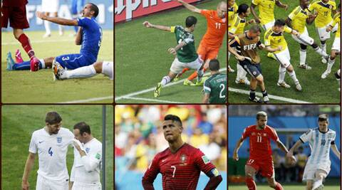 It's all in the game: The World Cup has seen many enjoyable on and off the pitch moments.  (Source: AP/Reuters)