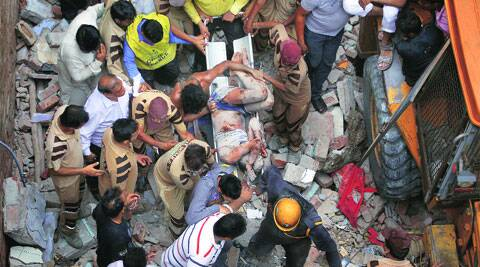 Ten people, including five children and three women, were killed in the collapse on June 28. (Source: EXPRESS)
