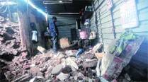 Three killed as wall collapses on Tardeo Road