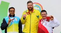 Nanjappa settles for silver in the 10m air pistol