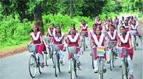Soon, cycles for girls in class XI, laptops for those in first year of degreecourses