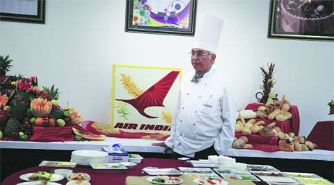 Chef Satish Arora, director of food production at Taj SATS