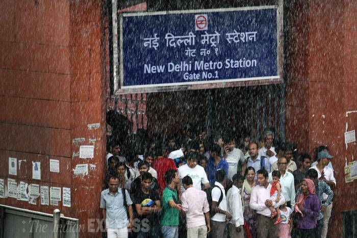 Monsoon rains lash Delhi-NCR