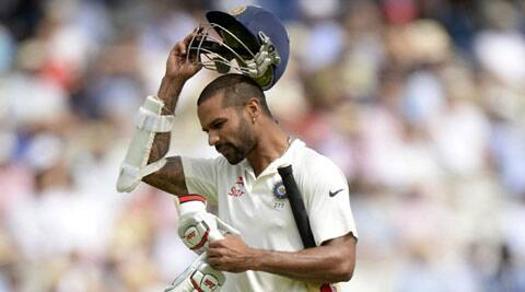 Shikhar Dhawan had a miserable Test series in England (Source: Reuters)