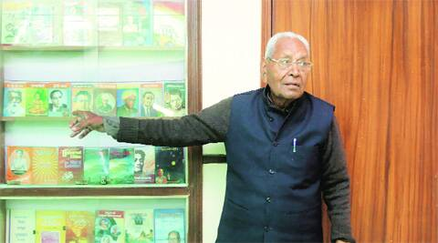 Dina Nath Batra at his home in New Delhi. Source: File Photo