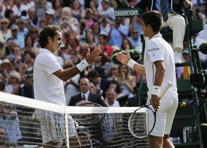 The Wimbledon 2014 final turned out be a contest which both players will be proud of. Federer, after a forgettable last year, was at his vintage best and gave Djokovic a hard time in the middle (Source: AP)
