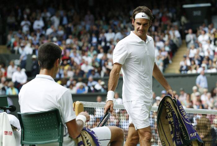 However, a classic Federer and troubling left ankle were not able to stop Djokovic who went on to seal the contest 6-7(7) 6-4 7-6(4) 5-7 6-4 (Source: AP)