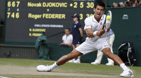 Novak Djokovic had only ten unforced errors on the backhand over five sets  and also hit bf29e6623746b