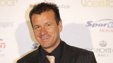 Dunga was captain during Brazil's 1994 World Cup win. (Source: AP)