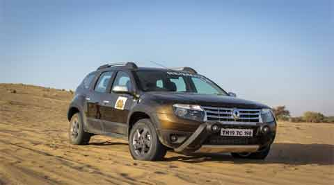 Renault is now sighting at a major share of the market by bringing a 4WD variant of the Duster in India.