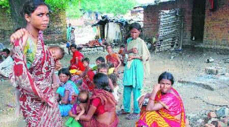 Nobody dared intervene, say villagers.
