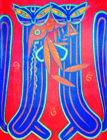 An original work by Jamini Roy (Source: courtesy: Aakriti art gallery)