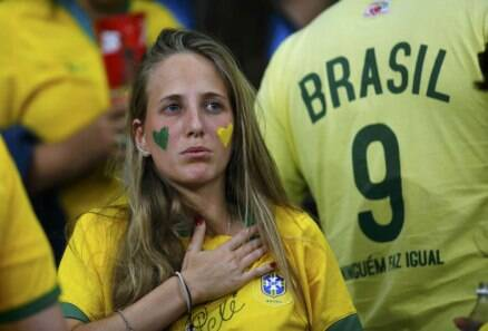 Brazil mourns end of World Cup dream
