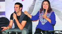 Farah Khan with Sahil Prem