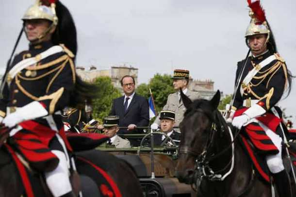 France's Bastille Day parade commemorates World War I centenary