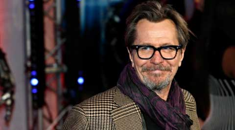 Gary Oldman skipped the New York premiere of 'Dawn of the Planet of the Apes' because of a family emergency. (Source: Reuters)