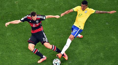 Miroslav Klose scored his 16th World Cup goal. He became the highest  World Cup ever scorer overtaking Ronaldo. (Source: AP)