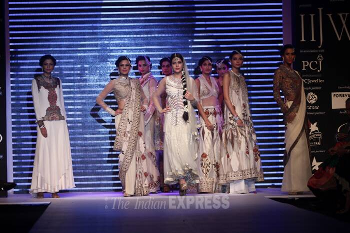 The show featured some of Gitanjali's extensive bouquet of brands. (Source: Varinder Chawla)