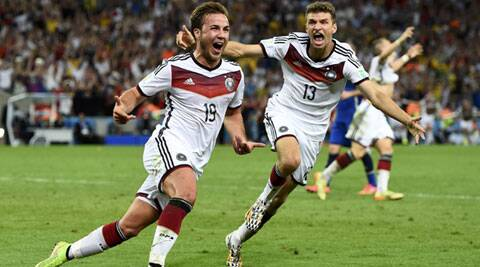 Goetze's extra-time goal to beat Argentina and win the cup was the 32nd scored by a substitute in Brazil. (Source: Reuters)