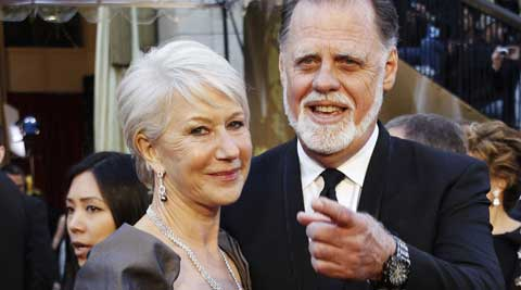 The happily married director and 68-year-old actress got together in their late 30s and waited 13 years to wed on New Year's Eve 1997, reported People magazine.