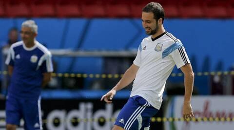 Higuain, who scored nine goals during the qualification rounds, has had little luck at the World Cup. (Source: AP)