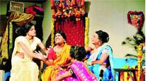 A still from the  play, Hijada