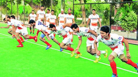 While fitness levels have improved, Indian hockey's age-old mental frailties remain. (Source: Express Photo)