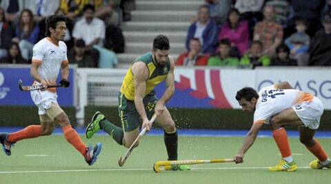 India managed to re-group themselves and put up a stronger defence in the second half, where they conceded one and scored one at the National Hockey Centre. (Source: PTI)