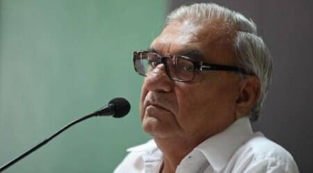 Hooda spoke at the function after Krishan Pal Gurjar and Nitin Gadkari had addressed the gathering.