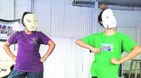 House of Shops uses a variety of art forms from dance to puppetry;  Director of the play Reshma Shetty (left)