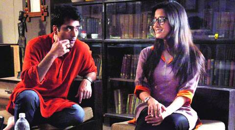 Abhir Chatterjee and Raima Sen in Hrid Majharey