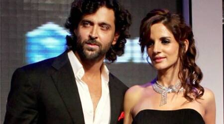 Hrithik and Suzanne at an event: The love lives of celebrities, especially when they're going through a bad phase are deeply engrossing