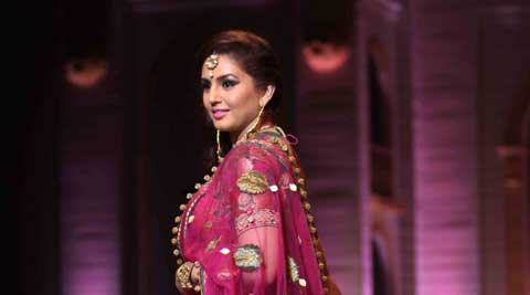 Actress Huma Qureshi is set to walk the ramp as a showstopper for designer-duo Rimple and Harpreet Narula on the final day of the forthcoming edition of Shree Raj Mahal Jewellers India Couture Week 2014, starting July 15.