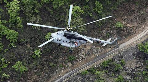 IAF chopper crashes in Uttar Pradesh, seven feared dead