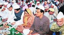 Fund-starved Cong holds iftar with contributions, minus luxury