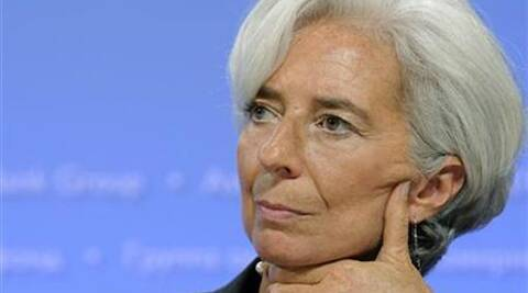 The strength of the global economic recovery could be 'less robust than expected,' said IMF chief Christine Lagarde. Reuters