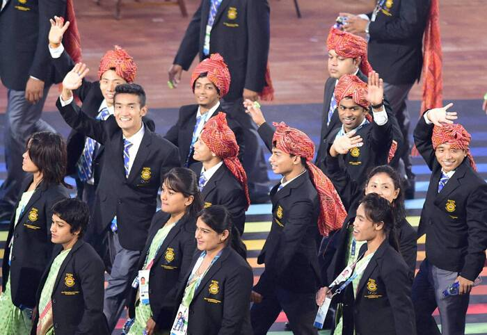 2014 Commonwealth Games Parade of Nations