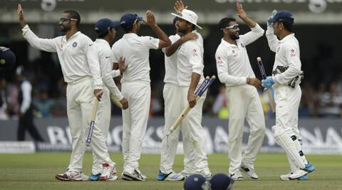 India's second victory at the home of cricket and first since 1986 continued England's miserable year after series defeats by Australia and Sri Lanka. (Source: AP)