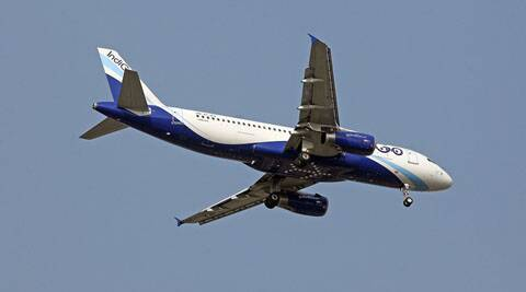 The pilots of the Indigo plane and the Air India aircraft manoeuvred themselves to avoid a near-miss.