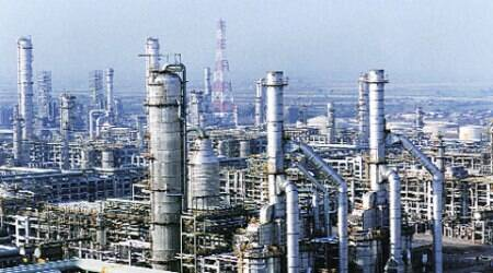 RIL's refinery at Jamnagar, the world's biggest. (Source: Express)