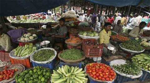 Retail inflation fell to 30-month low of 7.31 per cent in June, mainly on account of lower prices of food items. (Image source: Reuters)