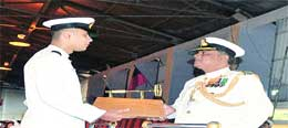Officers of 77th Marine Engineering Specialisation felicitated