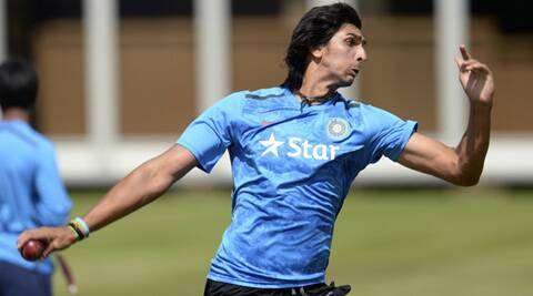 India will hope that Ishant Sharma, who has a tendency to blow hot and cold, is consistent in the next three games (Source: Reuters)