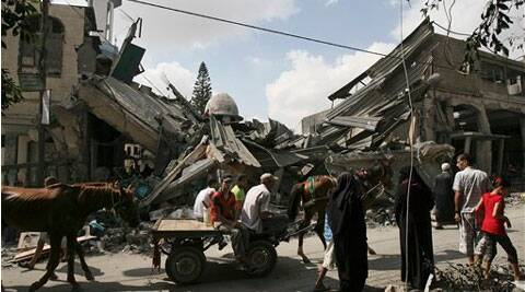 Israel pounds Gaza despite global efforts for peace; 604 Palestinians and 29 Israelis killed