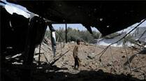 Hamas says 7 militants killed in Israeli strikes