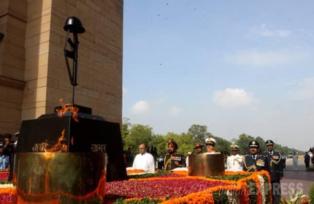 Arun Jaitley pays tribute to Kargil martyrs at Amar Jawan Jyoti