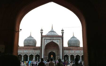 People love to visit Jama Masjid to break their fast at least once during the month of Ramzan. (Source: Swati Sharma)